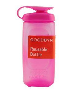 Goodbyn Trinkflasche in pink auf www.mina-lola.com