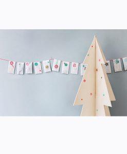 Adventkalender zum Selbermachen von Engelpunt auf www.mina-lola.com