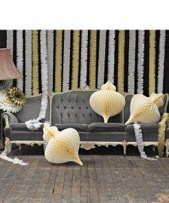 XXL Honeycomb in creme von talking tables auf www.mina-lola.com