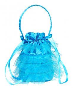 Entzückendes Tüll-Täschchen in blau auf www.mina-lola.com