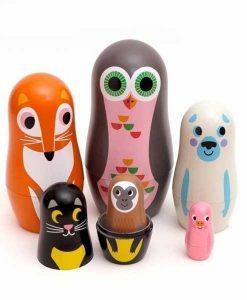 Matryoschkas Animals auf mina-lola.com von Omm Design