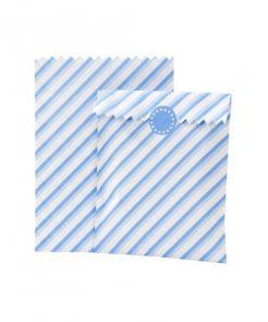 Mix & Match Papiertüten in blau von talking tables auf www.mina-lola.com