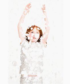 Silberne Konfettis auf www.mina-lola.com von my little day
