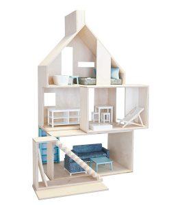 Puppenhaus MiniWood auf www.mina-lola.com von boomini
