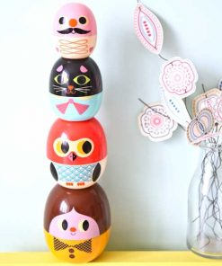 Babyoschkas Gesichter auf mina-lola.com von Omm Design
