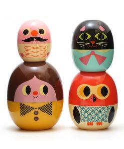 Babyoshka Gesichter auf mina-lola.com von Omm Design