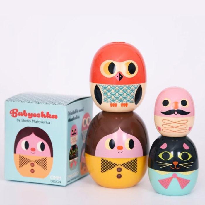 Babyoshka Faces Studio Omm Design auf www.mina-lola.com