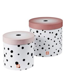 Boxen-Set Happy dots rose auf mina-lola.com von done by deer