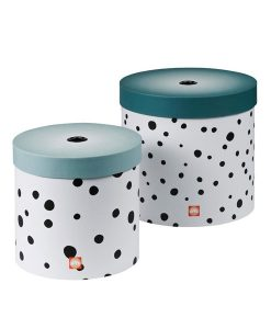 Rundes Boxen-Set Happy dots auf mina-lola.com von done by deer
