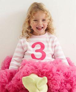 Geburtstagsshirt pink auf mina-lola.com von Bob&Blossom