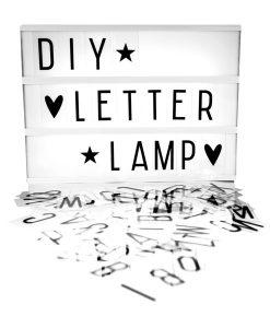 Lightbox A4 auf mina-lola.com von A little lovely company