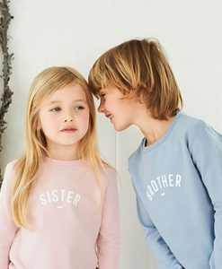 Sweater Brother and Sister auf mina-lola.com von Bob&Blossom