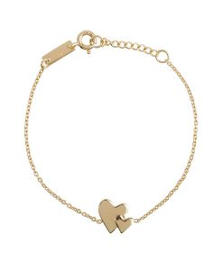 Our hearts beat as one – daughter bracelet auf mina-lola.com von lennebelle