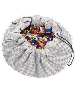 Spielsack grau auf mina-lola.com von Play & Go
