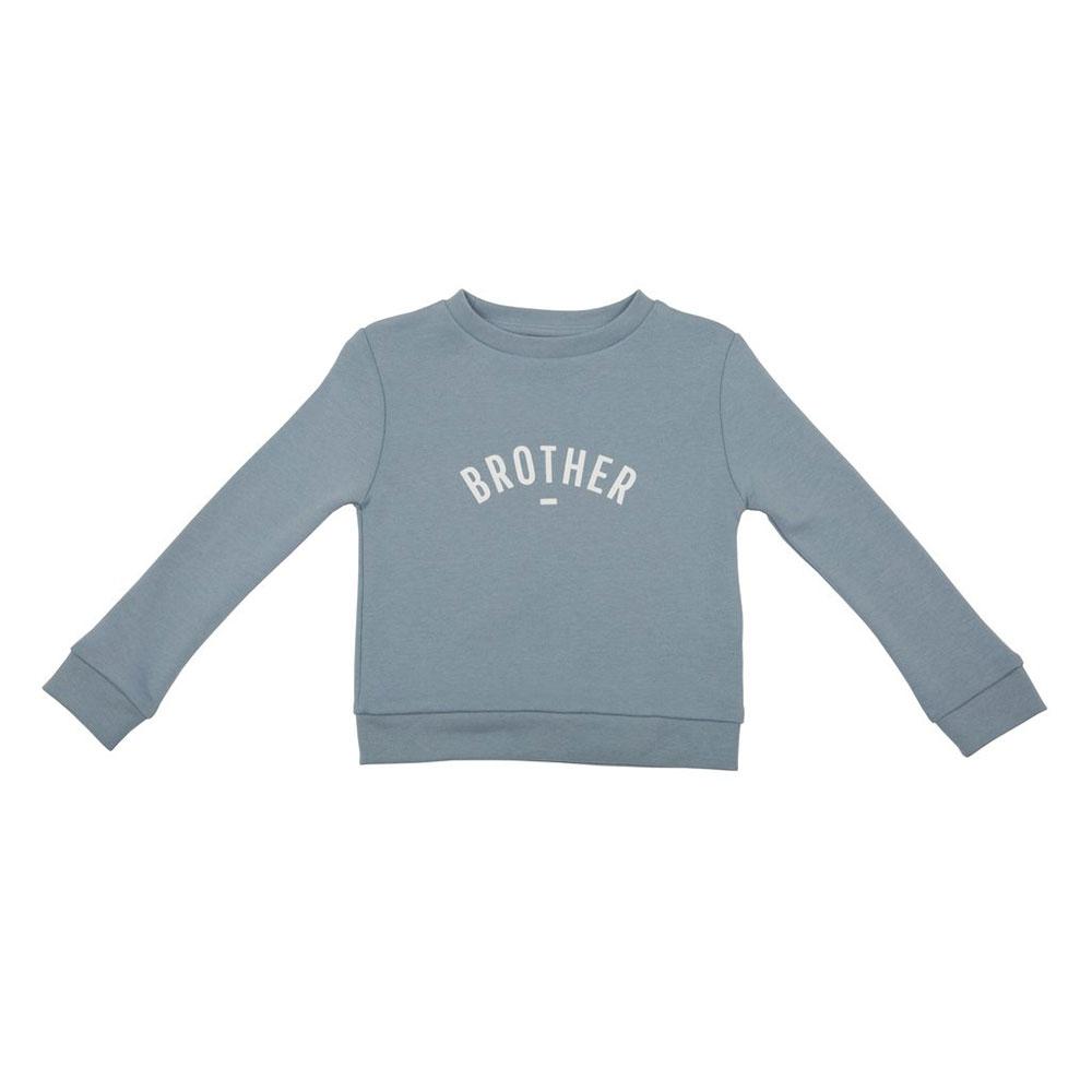 Sweater Brother hellblau auf mina-lola.com von Bob&Blossom