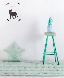 Teppich Trenzas mint auf mina-lola.com von Lorena Canals