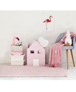 Teppich TRENZAS soft pink auf mina-lola.com von Lorena Canals