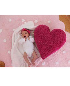Teppich GALLETA pink auf mina-lola.com von Lorena Canals