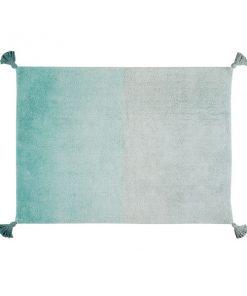 Teppich DEGRADE Emerald auf mina-lola.com von Lorena Canals