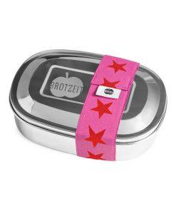 Brotzeit Lunchbox duo rot/pink auf mina-lola.com