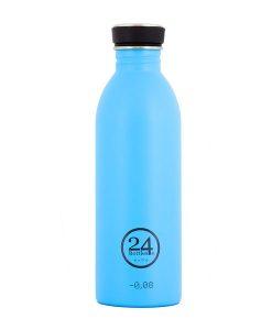 Trinkflasche lagoon blue auf mina-lola.com von 24bottles
