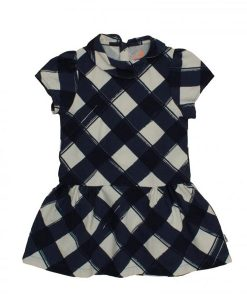 Peter Pan dress navy check auf mia-lola.com von Noe&Zoe