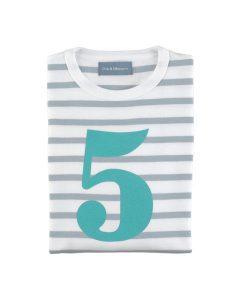 Geburtstagsshirt 5 auf mina-lola.com von Bob&Blossom