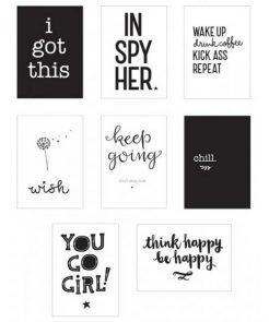 Poster-Lightbox Sheets Inspire auf mina-lola.com von A little lovely company