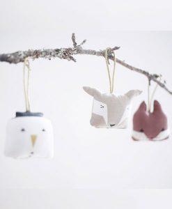 Soft ornaments animals auf mina-lola.com von Fabelab