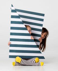 Strumpfhose Sunshine Stripe auf mina-lola.com von braveling