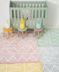 Teppich HIPPY soft pink auf mina-lola.com von Lorena Canals