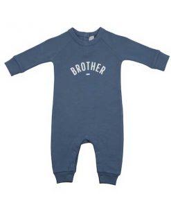 Babyoverall BROTHER blau auf mina-lola.com von Bob&Blossom