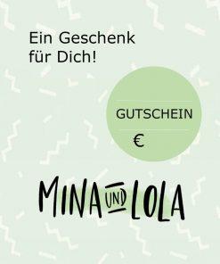 Geschenkgutschein von Mina & Lola