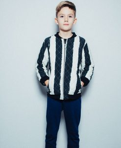 Jacke black stripes auf mina-lola.com von Noé & Zoë