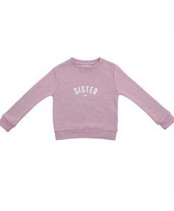 Sweater SISTER violett auf mina-lola.com von Bob&Blossom