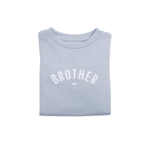 Sweater BROTHER hellgrau auf mina-lola.com von Bob&Blossom
