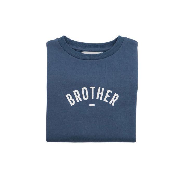 Sweater BROTHER dunkelblau auf mina-lola.com von Bob&Blossom