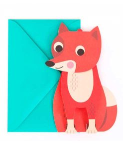 Grußkarte Fuchs auf mina-lola.com von Omm Design