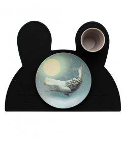 Platzset Bunny in black auf mina-lola.com von we might be tiny