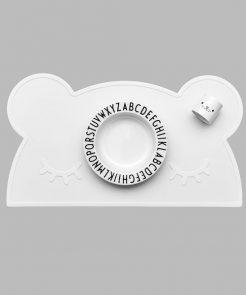 Platzset in white auf mina-lola.com von we might be tiny