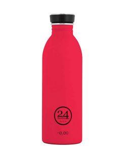 24bottles Trinkflasche hot red auf mina-lola.com