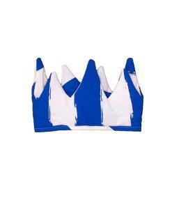 Krone blaue Streifen auf mina-lola.com von Noé & Zoë