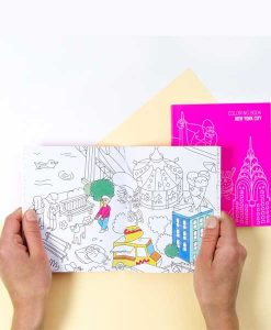 Note & Coloring book NEW YORK auf mina-lola.com von OMY
