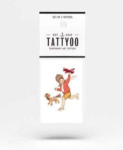Tattoo Pilot auf mina-lola.com von Tattyoo