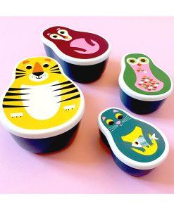 Snack Box Set Matryoshka Animal auf mina-lola.com von Omm design