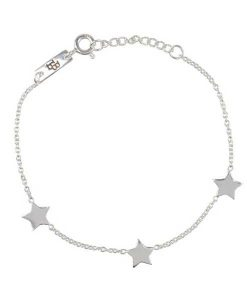 You are my shining star silver – Kids Armband auf mina-lola.com