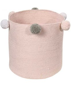 Korb Bubbly soft pink auf mina-lola.com von Lorena Canals