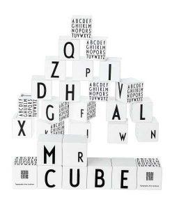 Holz Bausteine Design Letters auf mina-lola.com