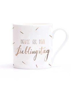 Tasse Heute ist mein Lieblingstag auf mina-lola.com von Eulenschnitt