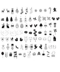 Lightbox Symbol Set Celebrations auf mina-lola.com von A little lovely company
